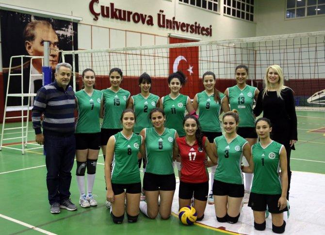 Çukurova Üniversitesi Kadın Voleybol Takımı 1. Lig'de