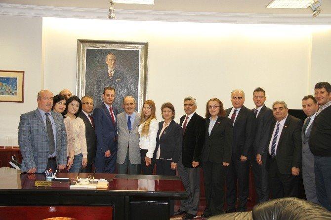 CHP Odunpazarı İlçe Örgütünden Başkan Büyükerşen'e Ziyaret