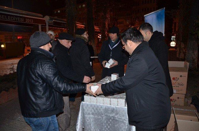 Kandil Simitleri Belediyeden