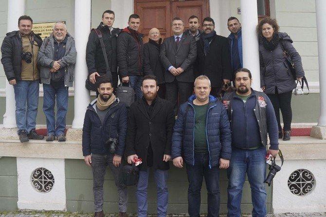 Dışişleri Edirne Temsilcisi Yörük Basınla Buluştu