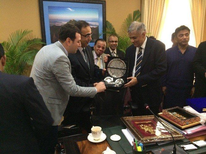 Gaziantep Heyeti, Sri Lanka Başbakanı İle Görüştü