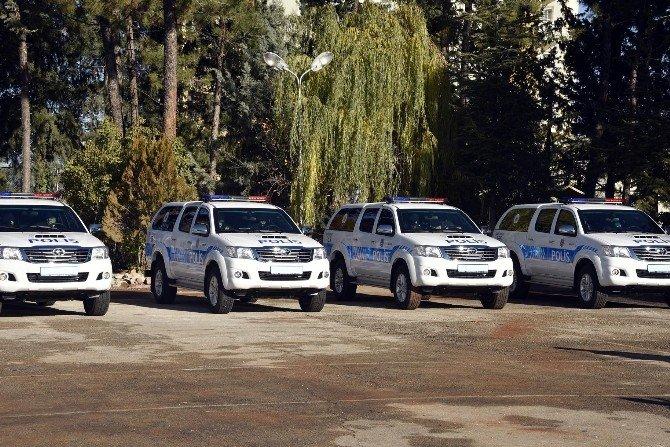 20 Zırhlı Araç Dualarla Hizmete Girdi