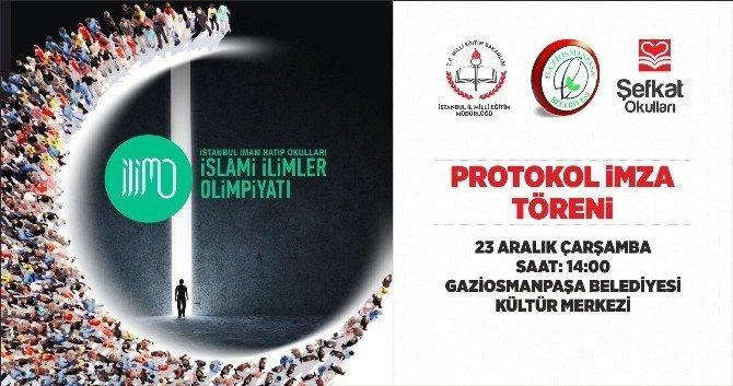 İstanbul İslami İlimler Olimpiyatı'nın Protokolü İmzalandı