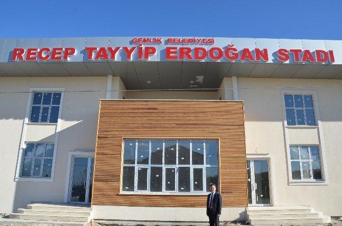 Recep Tayyip Erdoğan Stadı Açılışa Hazır
