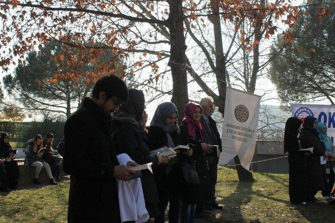 Genç Memur-sen Mehmet Akif'i Andı