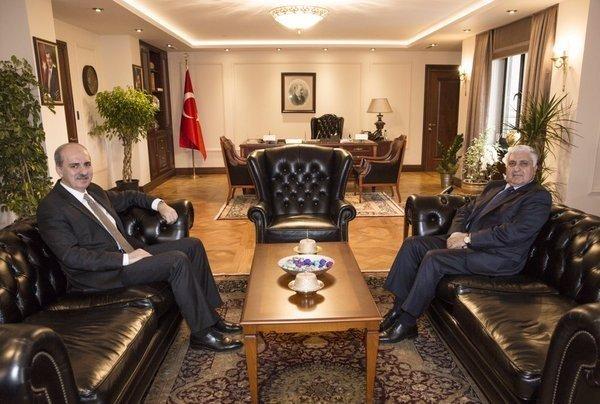 Orgeneral Özel'den Başbakan Yardımcısı Kurtulmuş'a Ziyaret