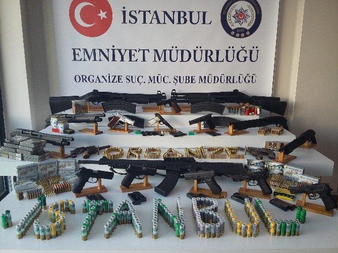 İstanbul'da Silah Kaçakçılığı Operasyonu: 4 Gözaltı