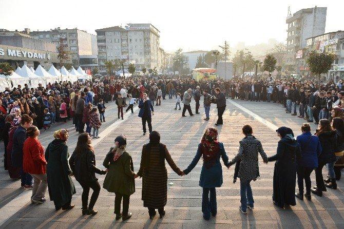 Mustafakemalpaşa'da Karadeniz Rüzgarı