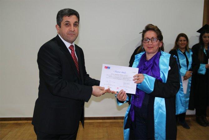 Kars'ta İSKEP girişimcileri mezun oldu