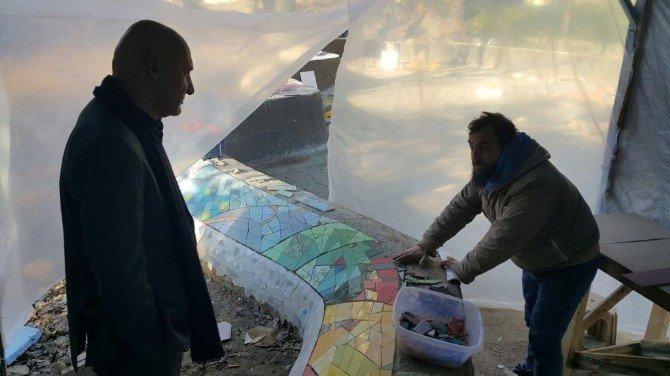 Başkan Altınok Öz, Kartal'ın En Büyük Parkı Olacak Alanda İncelemelerde Bulundu