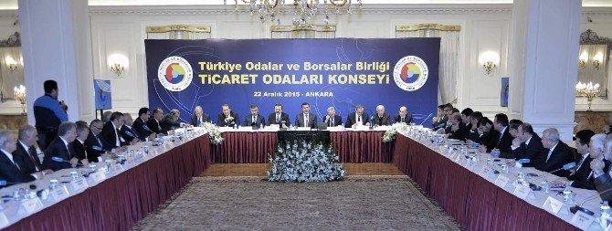 Başkan Hiçyılmaz, Ankara'da Düzenlenen Ticaret Odaları Konsey Toplantısına Katıldı