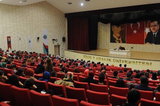 """7 Aralık Üniversitesi'nde """"Milli Şairimiz Mehmet Akif Ersoy"""" Konferansı"""