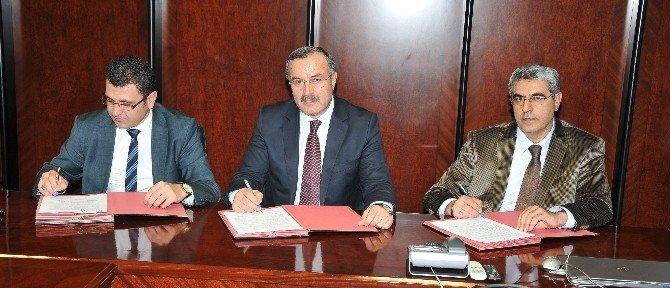 Mühendis Adayları İstihdam Projesi Protokolü İmzalandı