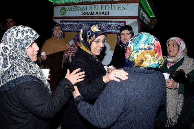 Meram'da Mevlid Kandili Özel Programı