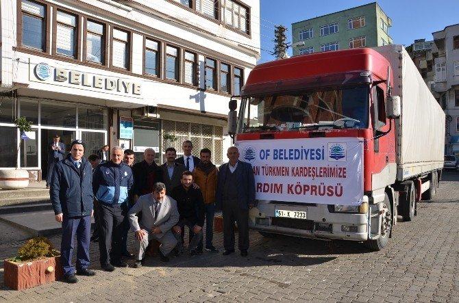 Of'tan Bayırbucak Türkmenleri'ne Yardım