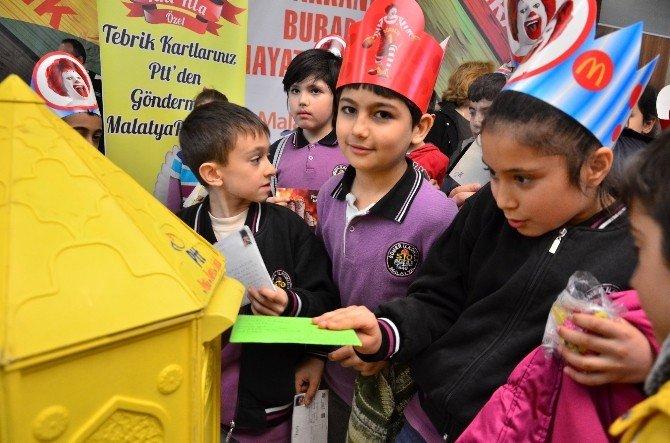 Tebrik Kartları PTT'den, Göndermesi Malatya Parktan