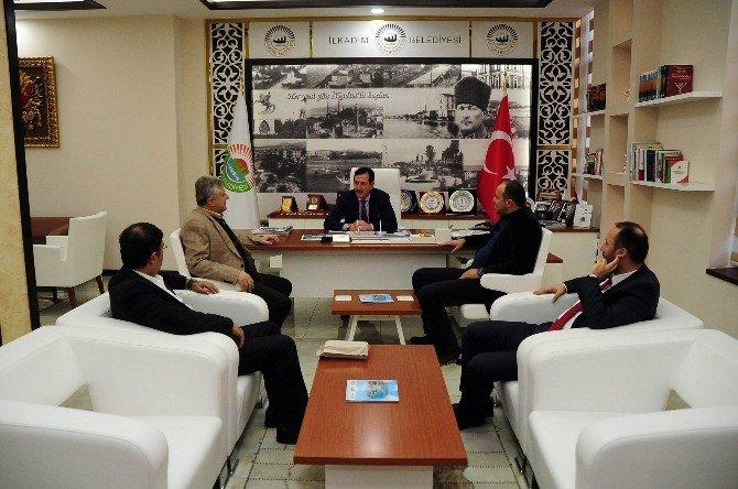 Başkan Tok'tan Samsunspor'a Destek