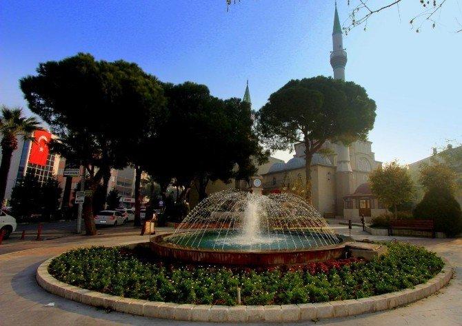 Saruhanlı Belediyesi Merkez Camisini Yeniledi