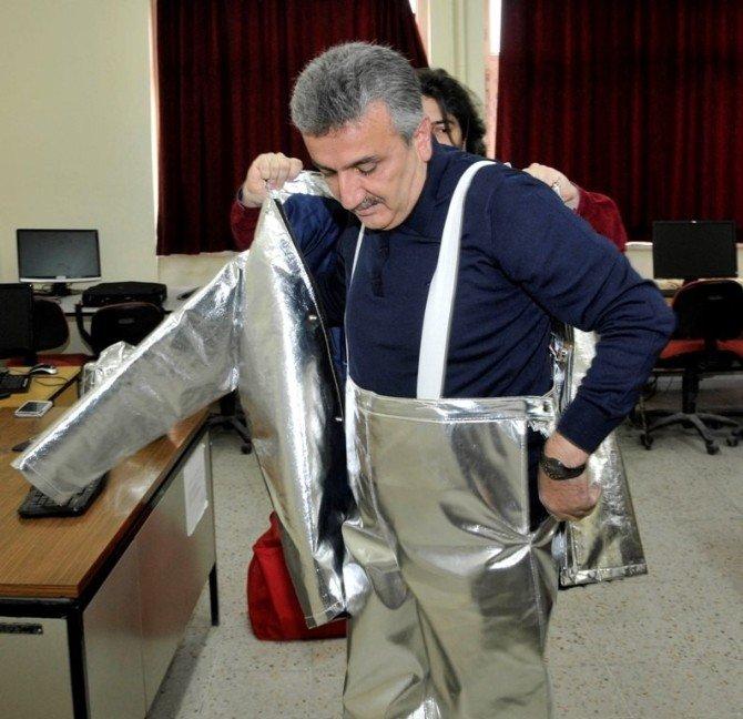 Selçuk'tan İtfaiyecileri Kurtaracak Akıllı Elbise Buluşu