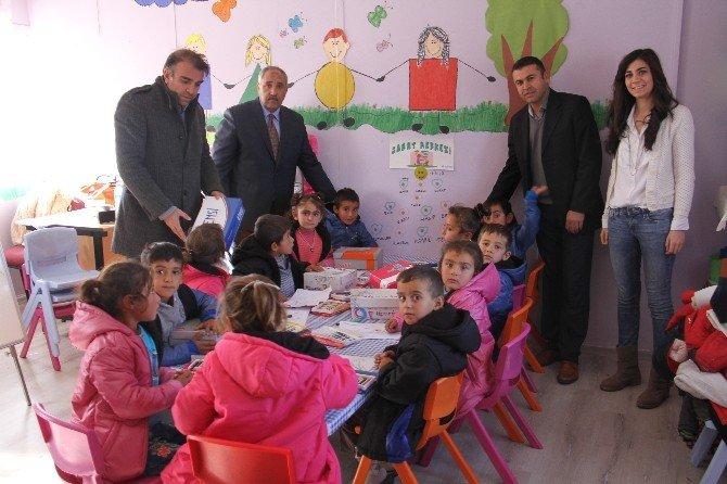 TOBB Ve Dtb'den Köy Okullarına Yardım