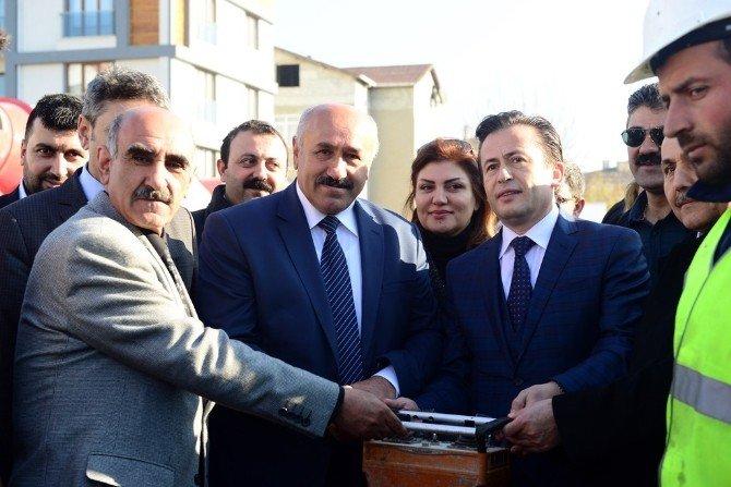 Başkan Yazıcı, Tuzla Belediyesi'nin Yaptırdığı 2. Cemevi'nin Temelini Attı