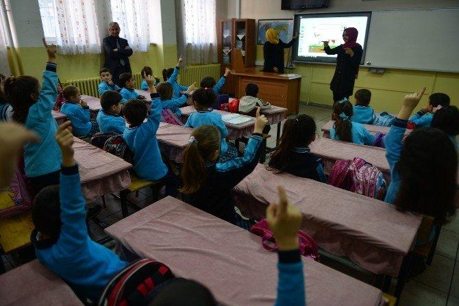 Yakutiye Belediyesi Ve TEMA Vakfından Çocuklara Çevre Bilinci