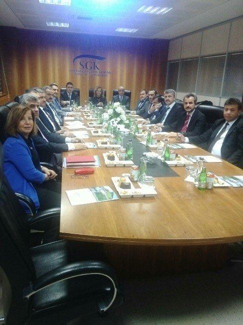 3. Koordinasyon Toplantısı Düzce SGK'da Yapıldı