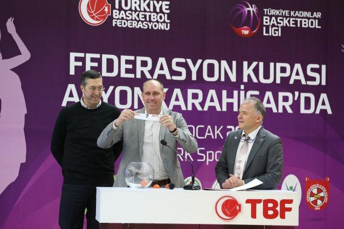 TKBL Federasyon Kupası, kuraları çekildi