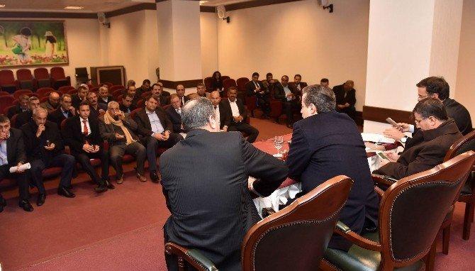 Akçakale Sulama Birlikleri Bakan Çelik'i Ziyaret Etti