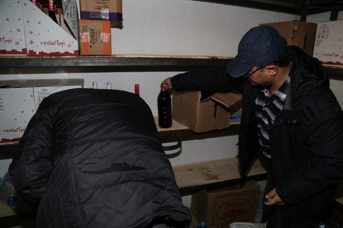 Efeler'de Yılbaşı Öncesi Sahte İçkiye Geçit Verilmedi