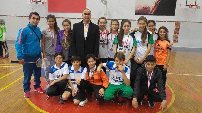 Badminton Adana seçmeleri tamamlandı