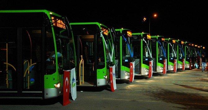 Toçoğlu'ndan 10 Yeni Otobüs Müjdesi