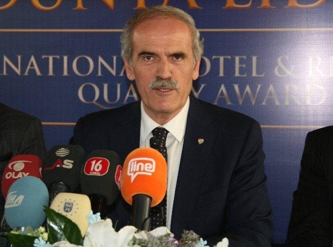 Burfaş'a İspanya'dan Kalite Ödülü