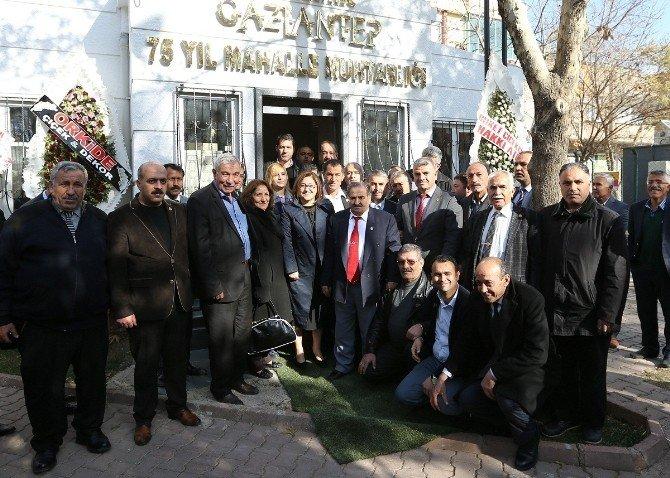 Mahallelere 'Muhtarlık Bürosu' Yapılıyor