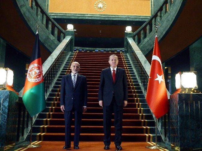 Afganistan Cumhurbaşkanı Ahmedzai Beştepe'de