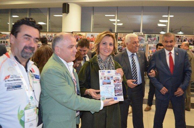 Ditab Başkanı Karataş, Bisiklet Turu Sergisine Katıldı