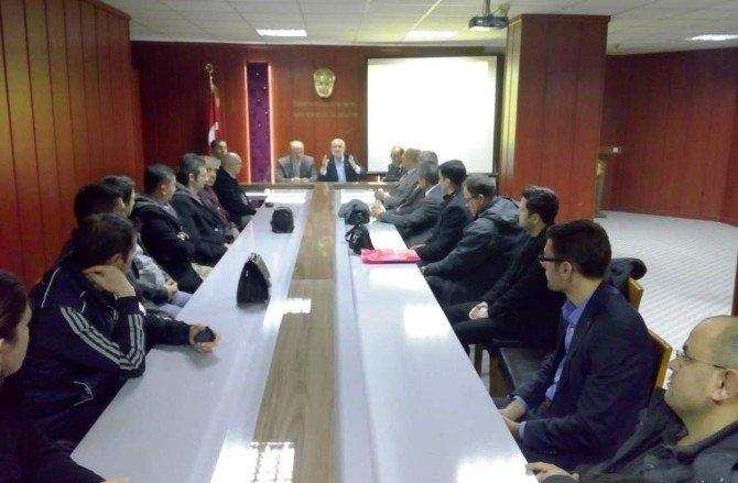 Şehzadeler Eğitim-bir-sen Okul Temsilcileri İstişare Toplantısı