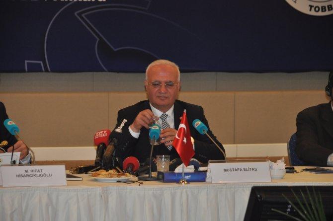 Ekonomi Bakanı Elitaş:TCMB'nin faiz kararı, kendi bakış açısıyla aldığı karardır