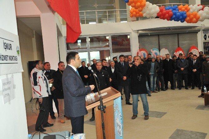Eleşkirt Belediyesi Hizmet Binası Törenle Açıldı