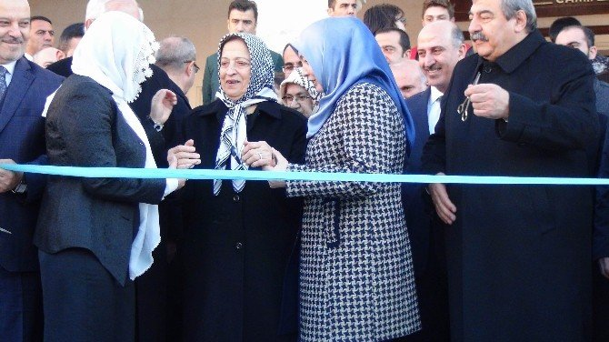 İnci Konukoğlu Camisinin Açılışını Mehmet Görmez Yaptı