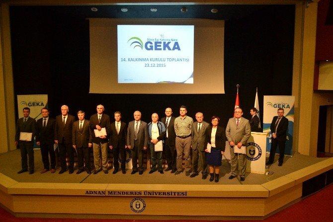 GEKA Kalkınma Kurulu, Aydın Adnan Menderes Üniversitesi'nde Toplandı