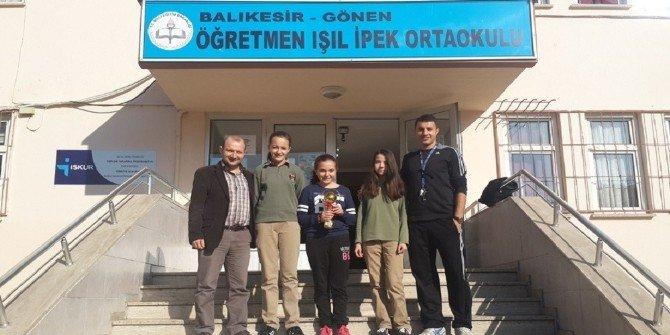 Öğretmen Işıl İpek Ortaokulu Gönen'in Gururu Oldu