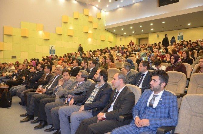 Harran Üniversitesinde Madde Bağımlılığı Konferansı