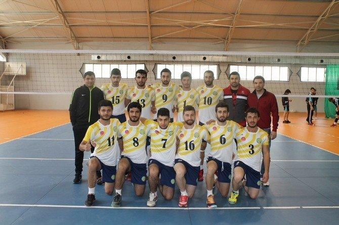 Harran Üniversitesi, Üniversitelerarası Voleybolda 1. Lige Çıktı