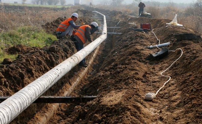 Altınözü'nün Ziyaret Mahallesi'nde içme suyu hattı yenilendi