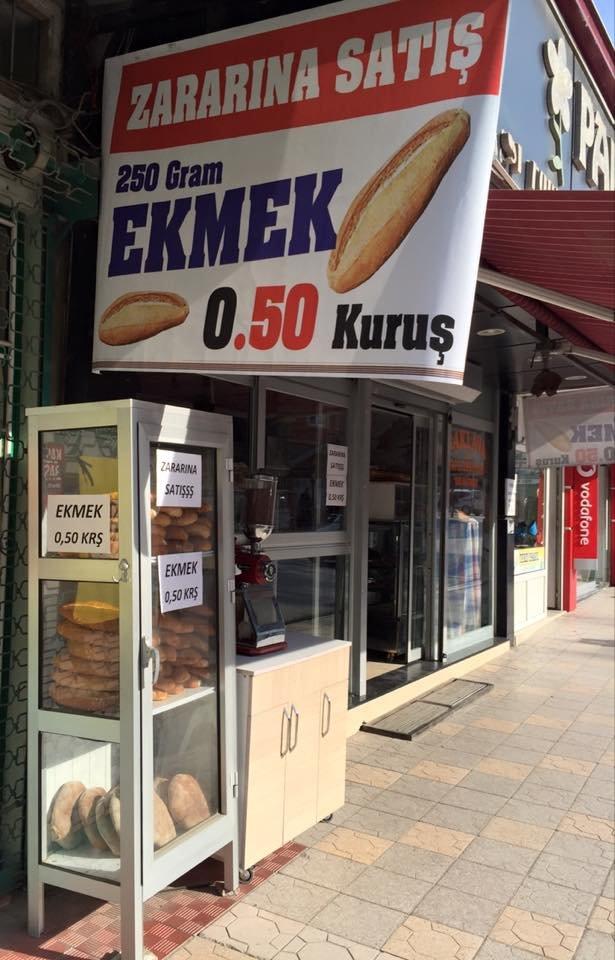 Fırıncılar rekabete girdi, ekmek 80 kuruştan 50 kuruşa düştü