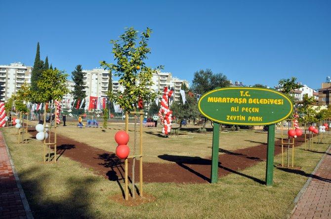 Muratpaşa'da 4 park daha açıldı