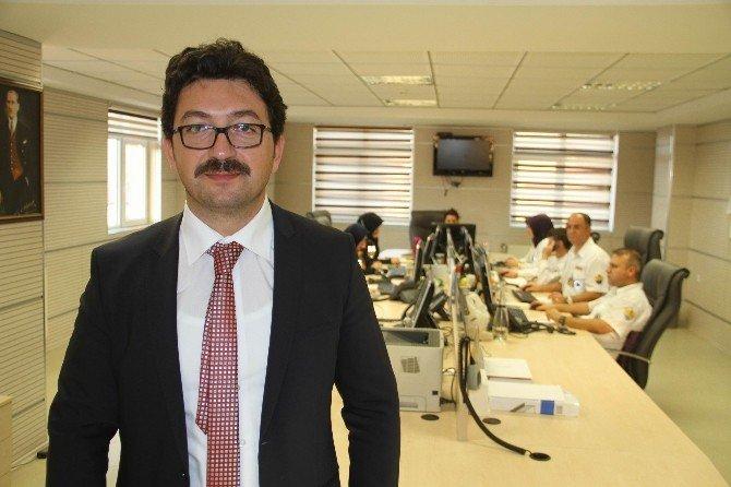 Samsun'da 112'ye Günlük 6 Bin Çağrı Geliyor