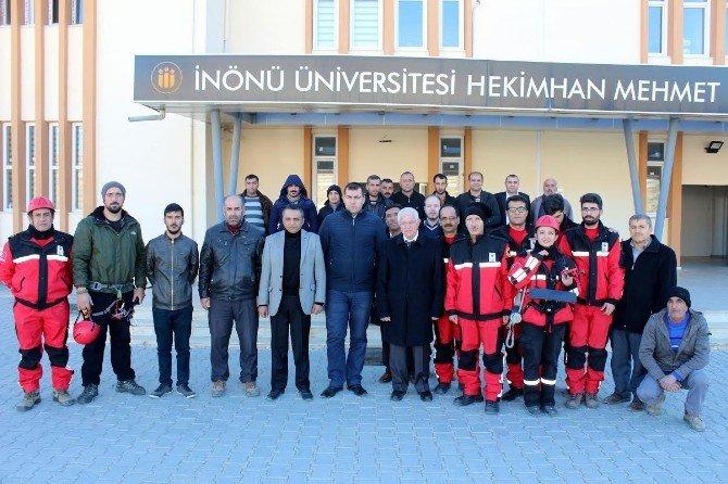 Hekimhan'da Afet Ve Acil Durum Tatbikatı Yapıldı