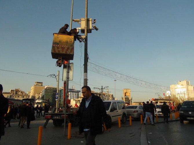 Taksim'de yılbaşı önlemleri